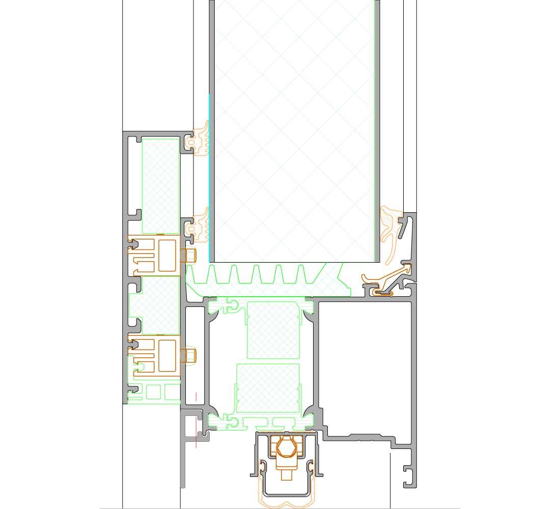 schuco door ads 112 ic. Black Bedroom Furniture Sets. Home Design Ideas