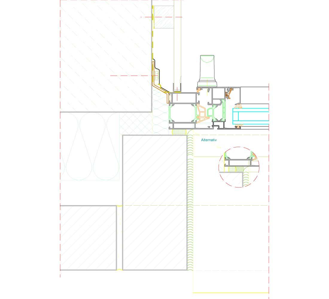 schuco aws 65. Black Bedroom Furniture Sets. Home Design Ideas