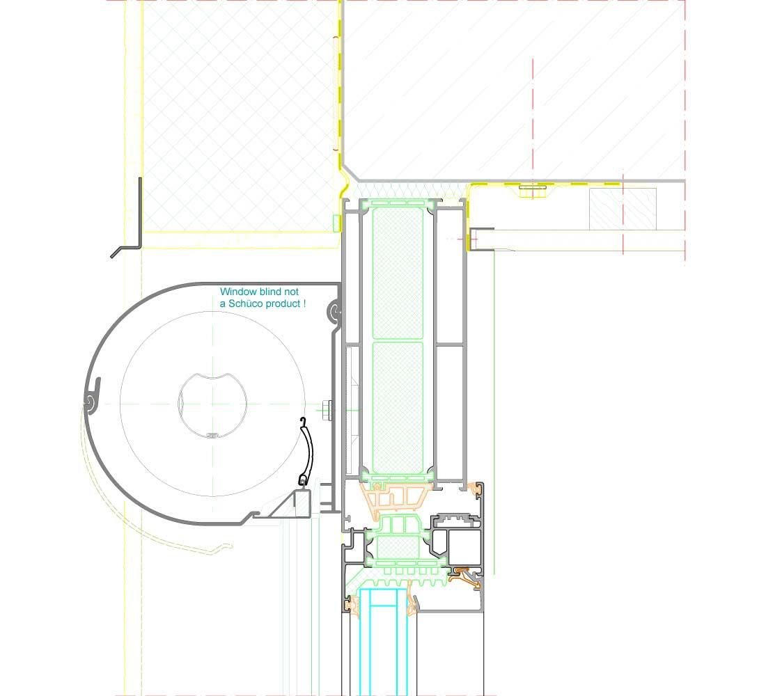 schuco aws 75 si. Black Bedroom Furniture Sets. Home Design Ideas