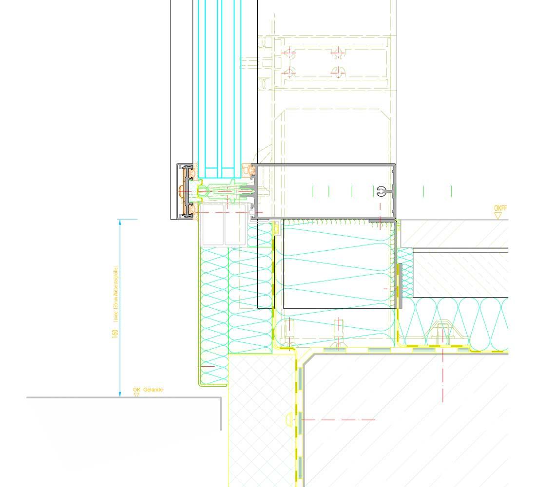 schuco fw 50 si. Black Bedroom Furniture Sets. Home Design Ideas